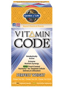 Vitamin Code Perfect Weight Formula from Garden of Life